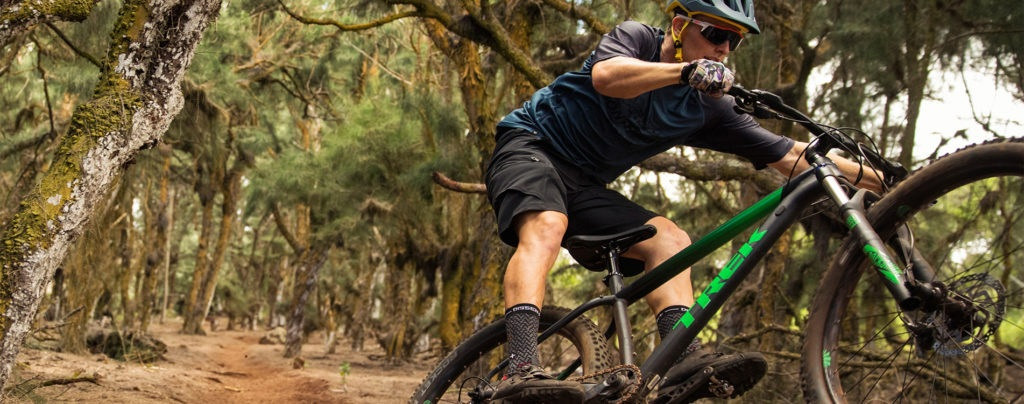 Shop for mountain and trail bikes like the Trek Roscoe at Bikes Palm Beach