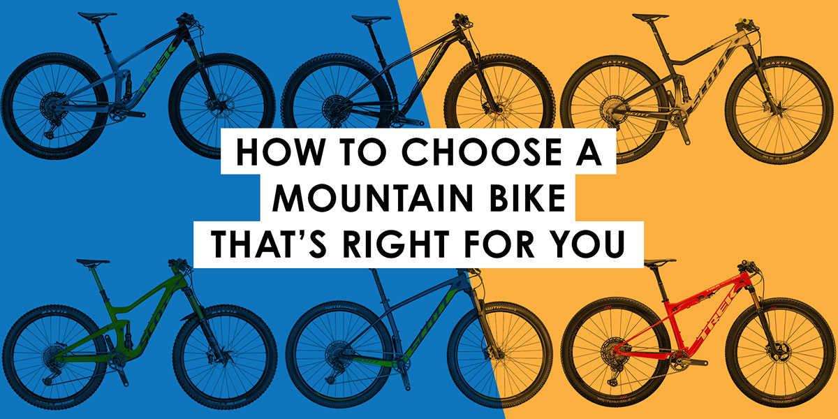 How to Choose a Mountain Bike That's Right for You