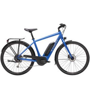 Trek Verve+ 2 Blue Hybrid E-Bike