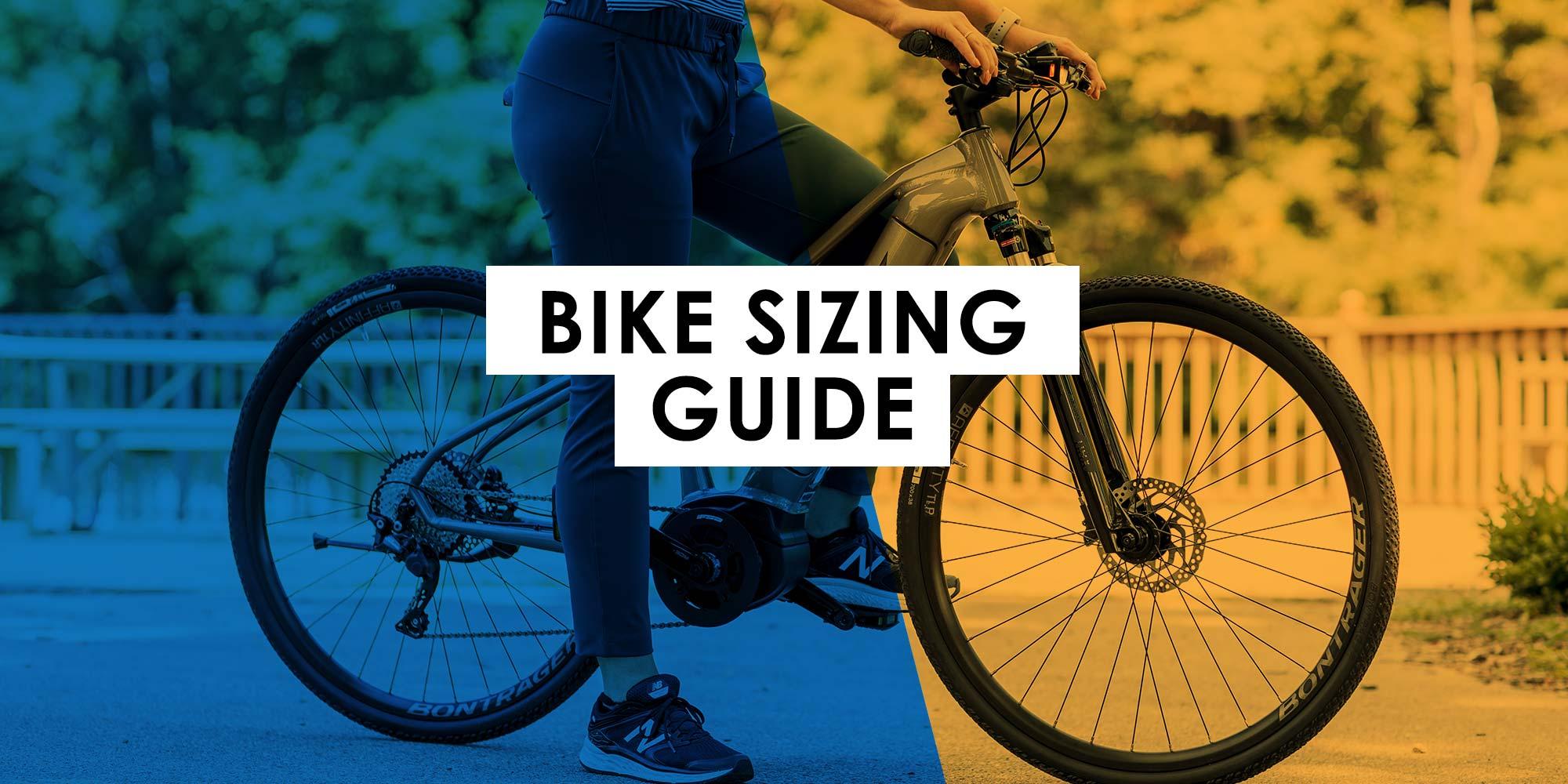 Bike Sizing Guide