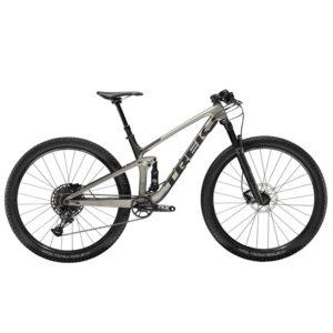 Trek Top Fuel 9.7 Black and Grey