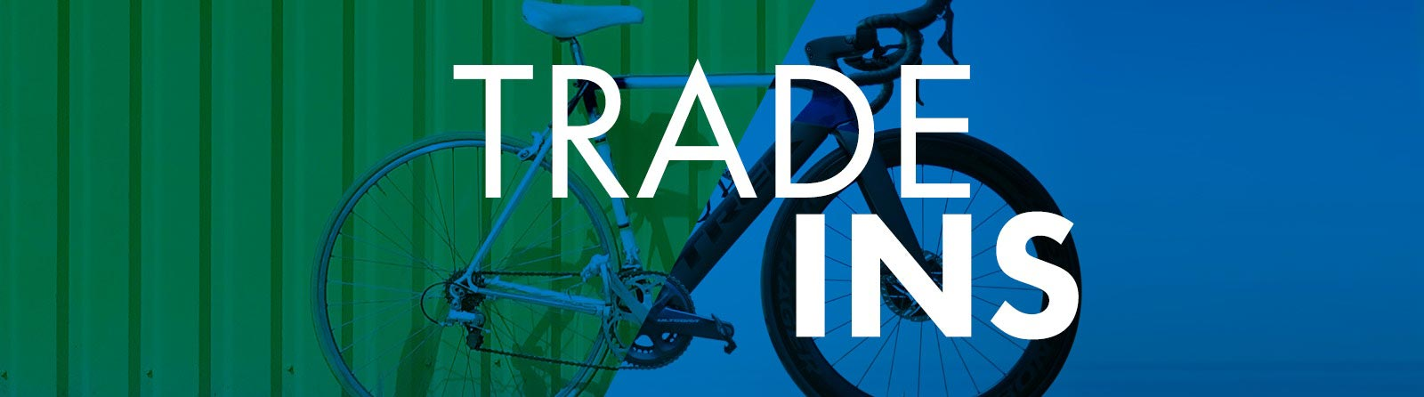 Trade in your old bike and upgrade to a new one!