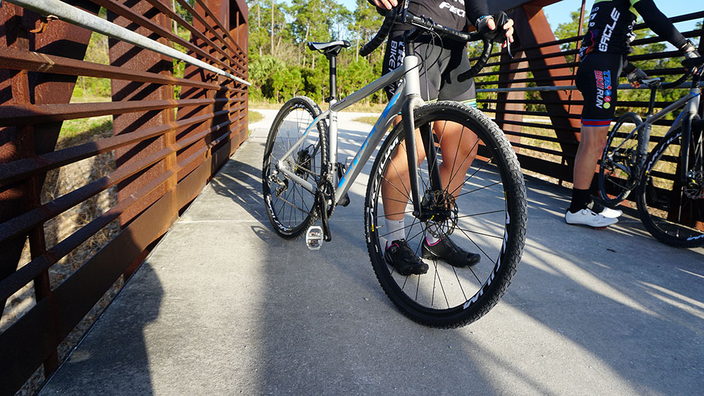 Shop Gravel Bikes at Bikes Palm Beach for Riverbend and local canal riding.