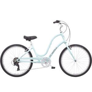 Electra Townie 7D Light Blue Cruiser Bike