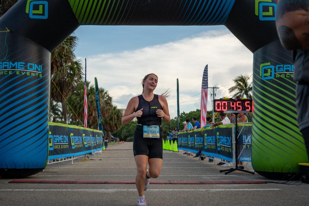 Turtleman Triathlon 2021 Finish Line Photos