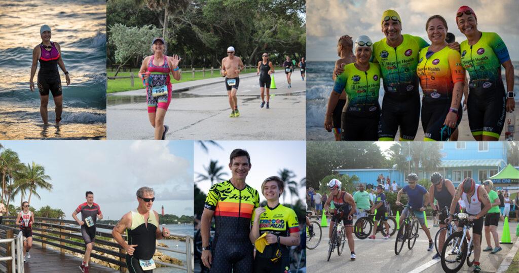 Turtleman Triathlon 2021 Collage
