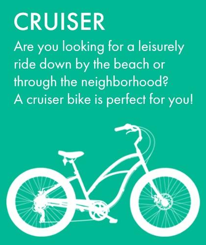 Cruiser Bike Rental