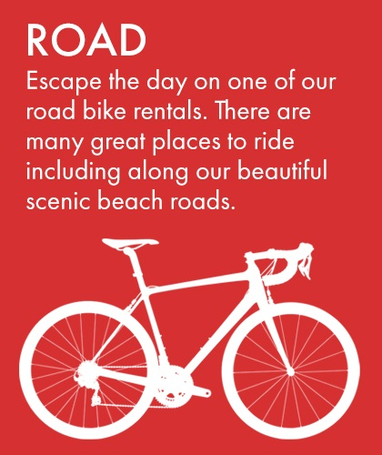 Road Bike Rental at Bikes Palm Beach