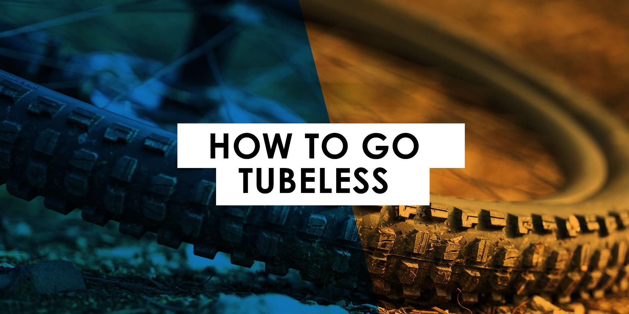 How to Set Up your Mountain Bike with Tubeless Tires
