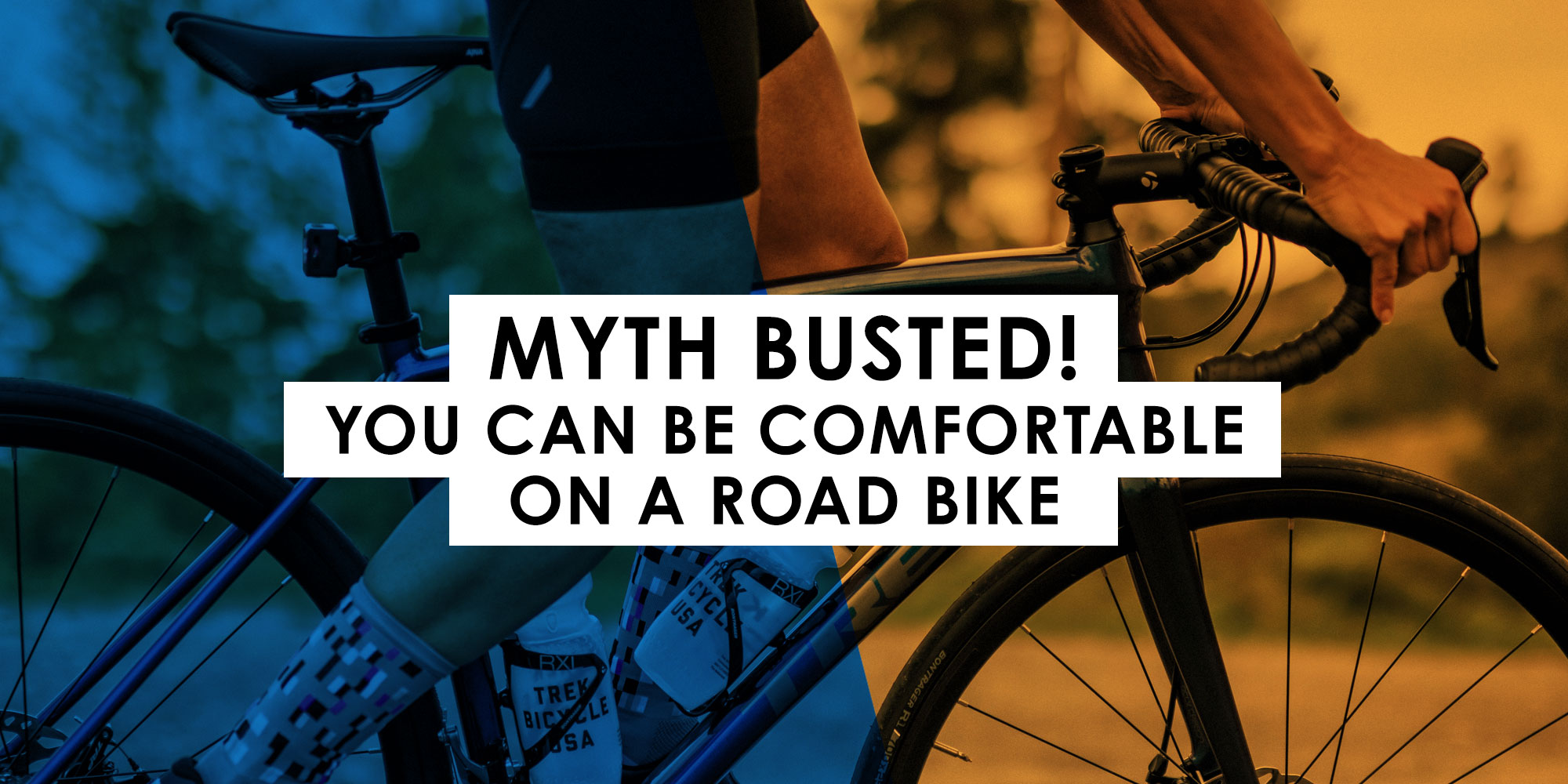 Myth BUSTED! You CAN be comfortable on a road bike