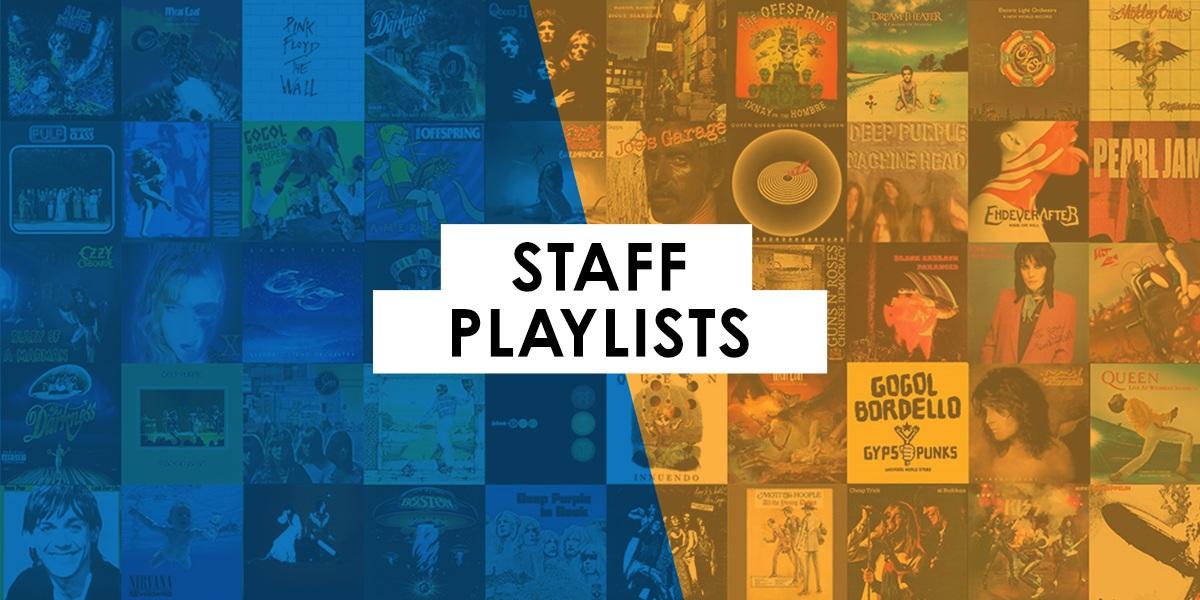 Staff Spotify Playlists for Workouts