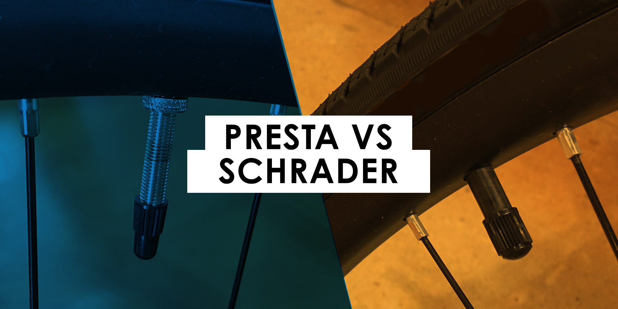 Learn the difference between a Presta vs a Schrader Valve